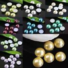 10Pcs Half Pearl Resin Beads Flatbacks Scrapbooking DIY for phone/wedding/craft
