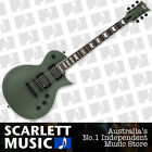 ESP LTD EC-401 Military Green Satin Electric Guitar w/EMGs EC401 - Save $250.