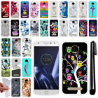 For Motorola Moto Z Play Droid XT1635 TPU SILICONE Protective Case Cover + Pen