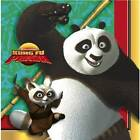 Kung Fu Panda Birthday Party Lunch Luncheon Dinner Napkins NEW