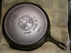 #9 Griswold 710 X1, Cast Iron Skillet Large Logo, Slant Smoke Ring, Clean