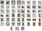 Dark Future  Games Workshop 1988 Game Pieces  Track Sections  Tokens  Miniatures