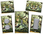 DRAGONFLIES GREEN TONES HOME DECOR LIGHT SWITCH PLATES AND OUTLETS