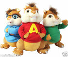 "7""Alvin and The Chipmunks Theodore Simon Plush Soft Stuffed Animal Doll Toy Gift"