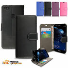 Leather Magnetic Wallet Flip Stand Case Cover For Huawei P10 Lite Phone Model
