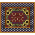 Sunflowers Splendor Art Tapestry Placemat 1018-PM ~ Made in USA