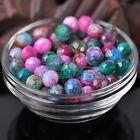 NEW 30pcs 10X8mm Faceted Rondelle Glass Lacquer Loose Colorful Spacer Beads