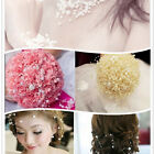 5M/10M 8+3mm Artificial Pearls Beads Chain Garland Flowers DIY Decoration