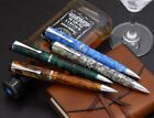 CONKLIN DURAGRAPH Mosaic Ice Blue, Cracked Ice, Amber Brown, Green Ballpoint pen