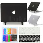 "2in1 Black Clear Matte Hard Case Cover with Stand For MacBook Air 13""A1369 A1466"