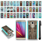 For Huawei Honor 5X/ Sensa 4G H715BL Hybrid Bumper Shockproof Case Cover + Pen