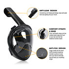 Full Face Snorkel Mask Surface Swimming Diving Scuba 180° View Mask For GoPro #3