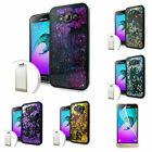 Film LCD+Quicksand Heart Case Cover For Samsung Galaxy J3 2016/Amp Phone