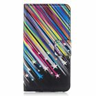 Flip Magnetic Wallet PU leather stand Silicone phone cover case for Huawei #3