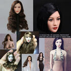"For 12"" JIAOUDOL Phicen Action Figure Body 1/6 Scale Asian Beauty Head Sculpt"