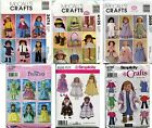 "18"" Doll clothes Boots Bags Craft Sewing Pattern Uncut  FREE Shipping U-PICK **"