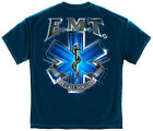 EMS T-Shirt On Call For Life Emt Navy