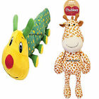 CHUBLEEZ GIANT DOG CUDDLE TOY COLIN CATERPILLAR GERRY GIRAFFE PADDED SQUEAKER