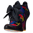 Irregular Choice Abigails Third Party Womens Shoes Black Floral New Shoes