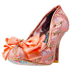 Irregular Choice Ascot Womens Shoes Pink New Shoes