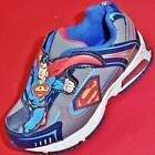 DEFECT Boy's Toddler SUPERMAN Light Up Gray/Blue Athletic Casual Sneakers/Shoes