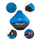 0°C Below Sleeping Bag Mummy Cold Weather Outdoor Camping w/ Carrying Bag New