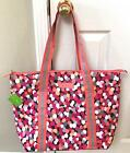 Vera Bradley Insulated COOLER TOTE BAG Pixie Confetti Lighten Up Beach, Pool NWT