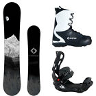 NEW 2017 System MTN w/ LTX Rear Entry Bindings Men's Complete Snowboard Package