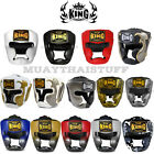 Top King Head Guard Muay Thai Kick Boxing Leather Empower Super Star Snake
