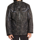 Mens Columbia Whirlibird Interchange Omni Heat Winter Ski Jacket Black NWT 4X