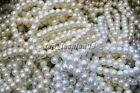 wholesale lots bulk 5-100pcs 1row glass pearl elastic bracelets jewelry FREE