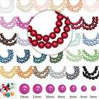 60-230pcs Wholesale Glass Pearl Beads Spacer Round Loose 3/4/6/8/10/12/14mm