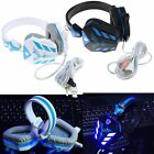 Omnidirectional LED Surround Stereo Game Gaming Headset  Headphone With Mic