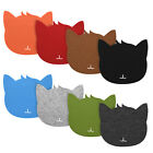 20x20x0.3cm Cat Shape Mice Mouse Pad Mat Felt Dust-proof Mousepad Mat
