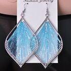 1 Pair Women Handmade Knot Thread Drop Dangle Hook Earrings Peru Jewelry