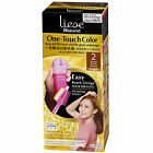 Kao Japan liese Blaune One Touch Foaming Hair Color Dying Kit - cover gray hairs