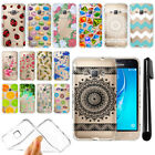 For Samsung Galaxy J1 J120 2nd Gen/ Luna Slim Soft TPU Clear Case Cover + Pen