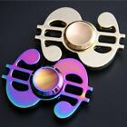 Hand Spinner USD Dollar Shape Fidget Spinner Rainbow EDC Toys Gift For Kids