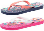 Ipanema Brasil Pretty Junior Girls Flip Flops ALL SIZES AND COLOURS