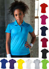 NEW - Lady Fit Polo Shirt, Moisture Wicking 100% Polyester UPF 30+ UV Protection