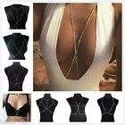 Fashion Sexy Womens Alloy Body Chain Chest Chain Nightclub Ladies Jewellery Gift
