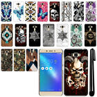 "For Asus ZenFone 3 Laser ZC551KL 5.5"" Butterfly HARD Back Case Cover + Pen"