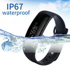 Bluetooth Smart Bracelet Watch Blood Pressure Heart Rate Monitor Pedometer