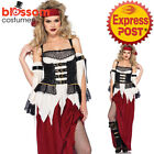 CA264 Buried Treasure Beauty Pirate Caribbean Buccaneer Womens Halloween Costume