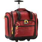 "LUCAS Wheeled Under The Seat Cabin Bag - 16"" 3 Colors Softside Carry-On NEW"