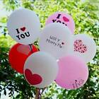 """Popular 10Pcs """"I Love You"""" Wedding Party Decoration 12 Inch Latex Balloons"""