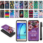 For Samsung Galaxy On5 G550 G500 Hybrid Bumper Protective Case Cover + Pen