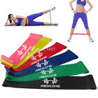 Rubber Resistance Bands Fitness Workout Elastic Training Band For Yoga Pilates image