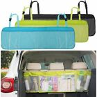 Car Mesh Pocket Hanging Boot Trunk Seat Tidy Storage Travel Basket Organiser Box