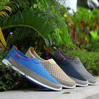 New Fashion Men's Breathable Slip On Casual shoes Mesh Loafers For Summer